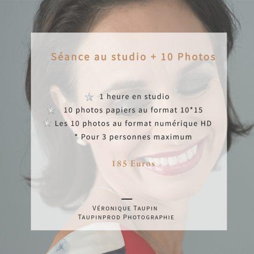 2 - Pack 10 au studio