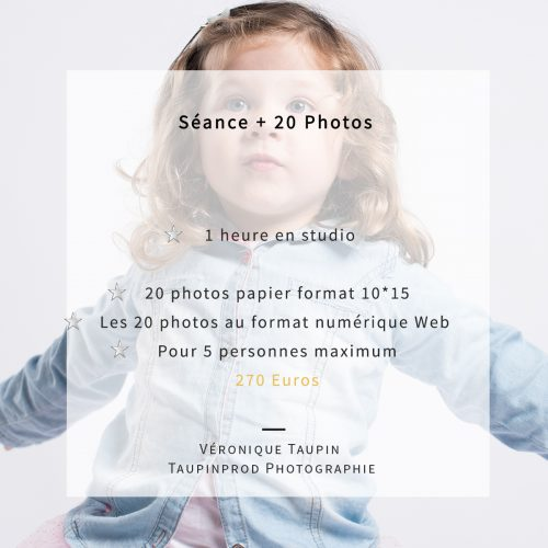 20 portraits au studio