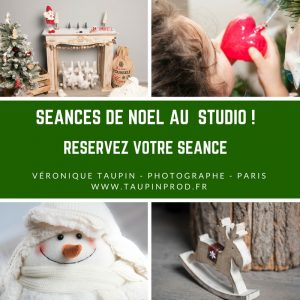 Séance de Noel au studio - Veronique Taupin Photographe studio photo paris